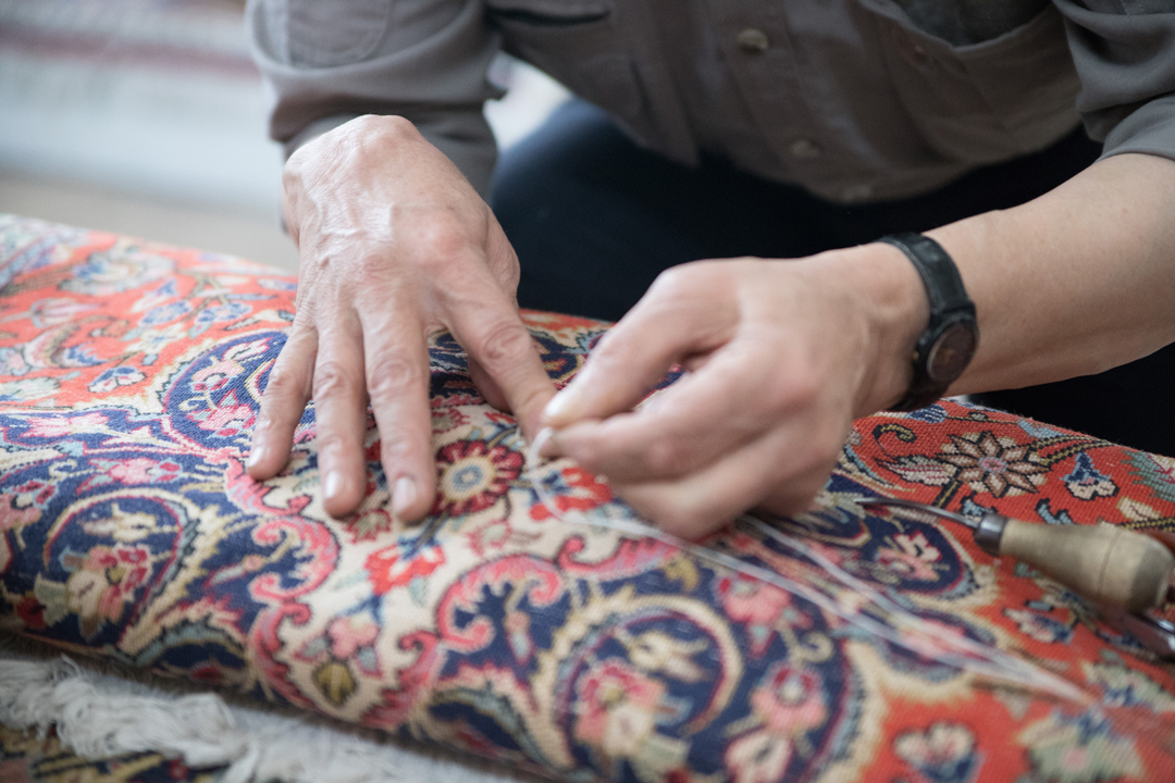 Rugs Folded Repair
